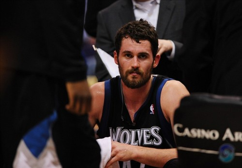 Could Kevin Love occupy a season on another team's bench after the trade deadline?