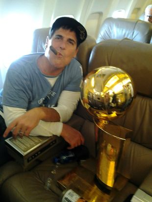 "Mark Cuban on making it rain: ""That's dumb shit that people with real money dont do."" He better hope Dirk and OJ didn't get the memo..."