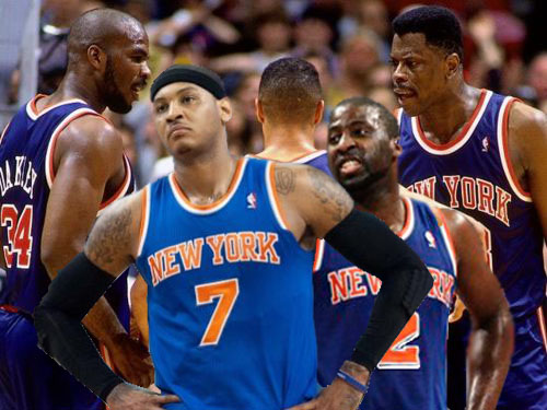 New York Knicks vs. New Jersey Nets, Game 4