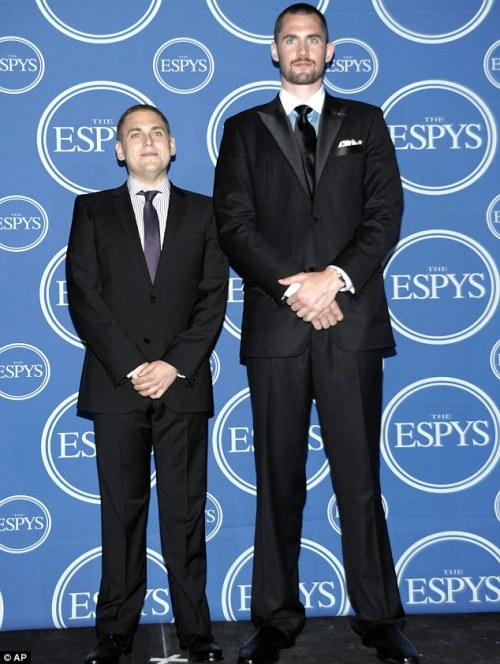 Kevin Love and Jonah Hill: Studies in Weight Fluctuations