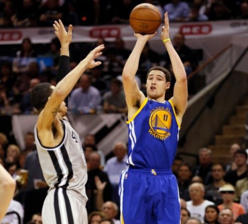 Klay Thompson has one of the sweetest shooting strokes in the NBA