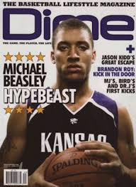 "The irony of Beasley starting his career on the cover of a publication called ""Dime Mag"" is awesome. (Photo credit: DimeMag)"