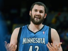 Kevin Love may be wondering if he'll ever get a breather.
