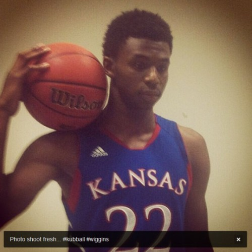 Andrew Wiggins, future Timberwolf?
