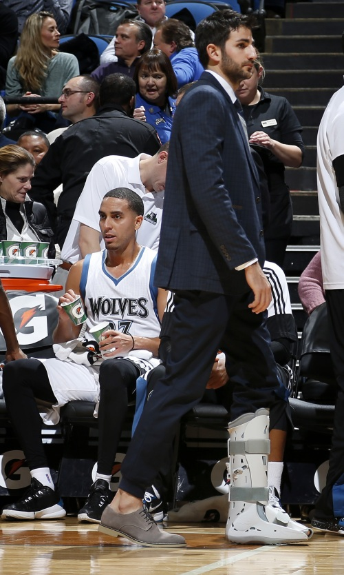 Ricky Rubio's ankle injury may end up as the season's defining event.