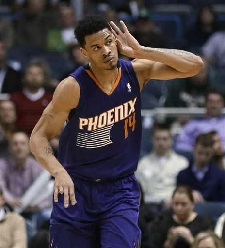 Gerald Green put on a brief but amazing show on Wednesday against the Wolves.