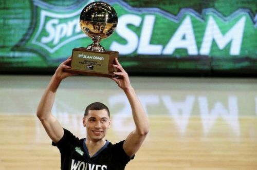 2015 NBA Slam-Dunk champion Zach LaVine