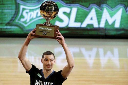 2015 NBA Slam-Dunk champion Zach LaVine