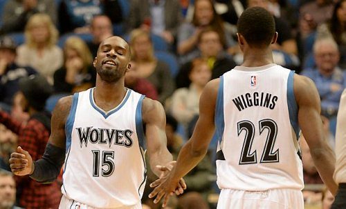 Shabazz Muhammad and Andrew Wiggins