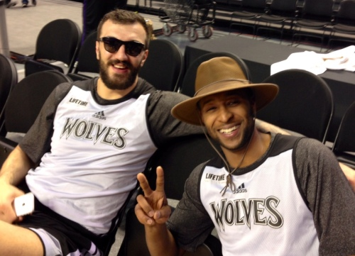 Nikola Pekovic's injuries could force him to sit on the Wolves bench for the entire 2016-17 season